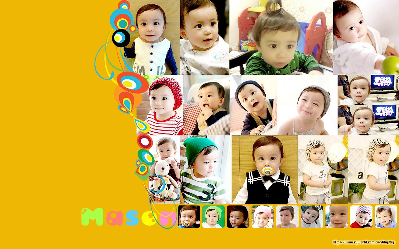 可爱胎教宝宝图片