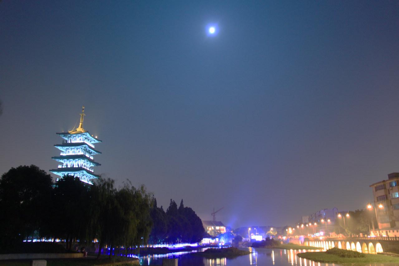壁纸 建筑 塔 夜景 1280_853