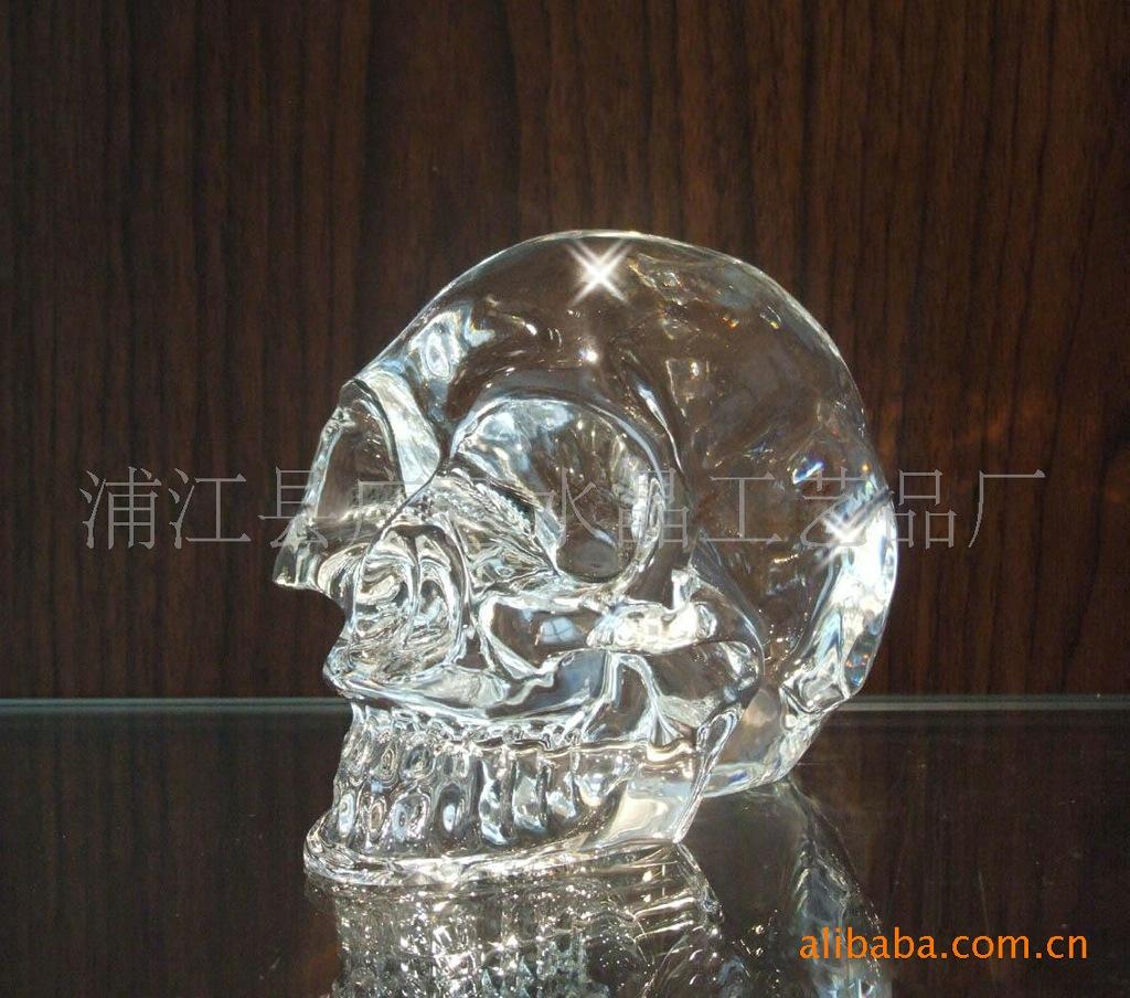 描述:水晶骷髅头