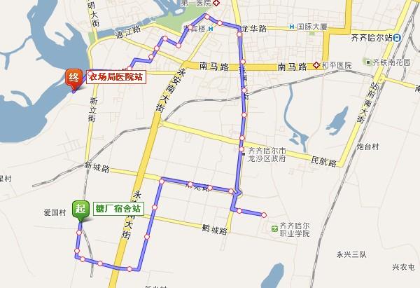 齐齐哈尔公交线路及站点大全_今日鹤城_齐齐哈尔论坛