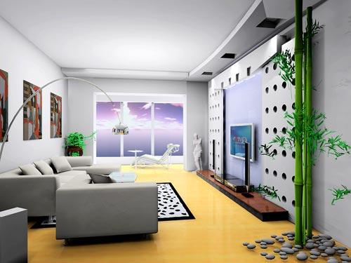 精美的客厅装修效果