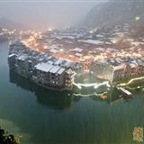 2012年镇远古城第一场雪
