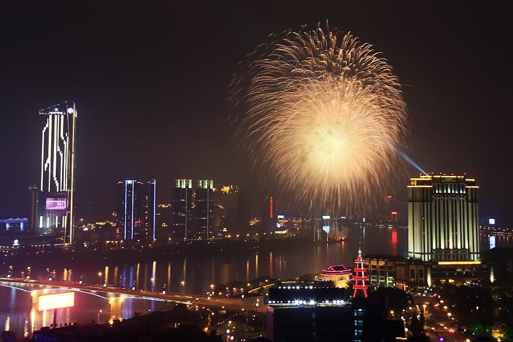 2012惠州元宵节焰火