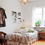一室一厅时尚家居 标筑装饰51平自然系单身公寓