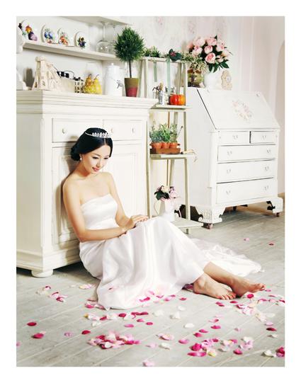 温馨甜美风情她的内心其实是一个美丽的花园