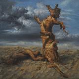 风从南来艺术沙龙油画作品欣赏