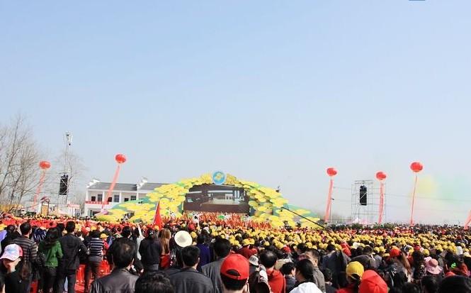 [分享]中国农谷?荆门(沙洋)第五届油菜花旅游节盛装开幕