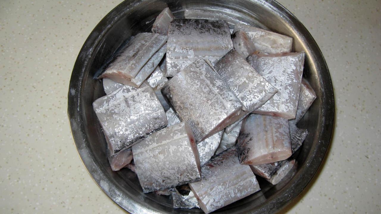 武威小妞精品菜:美味红烧带鱼
