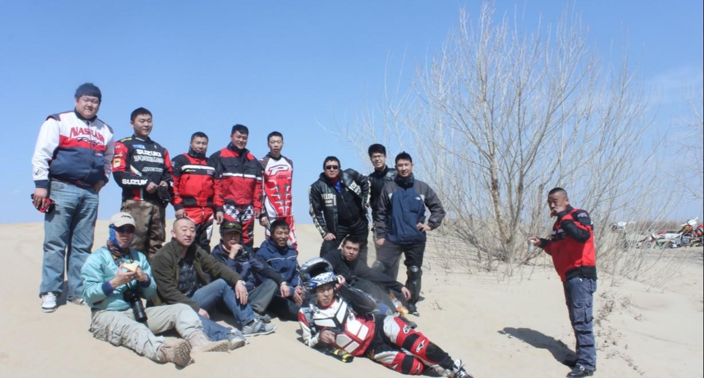 2012年4月15日哈尔滨狼人越野出游捞洲沙滩