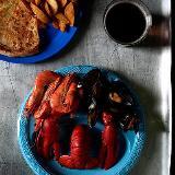"""[转贴]摄影师留下的""""最后的晚餐"""" 杀手Allen Lee选择了龙虾"""