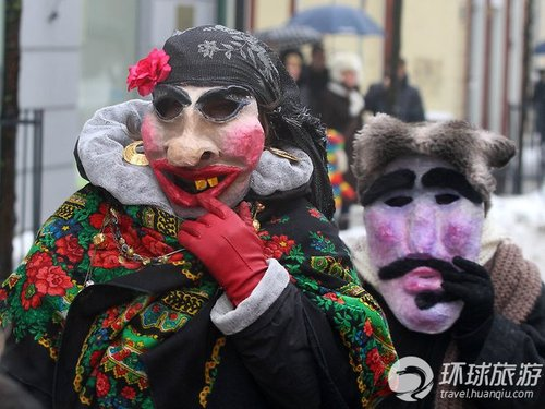 初夏大狂欢 各国华丽面具节