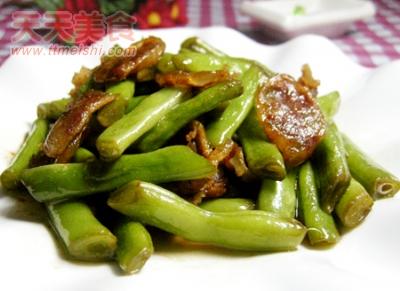 四季豆炒香肠的做法详细介绍