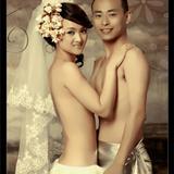 流行的裸�w婚�照