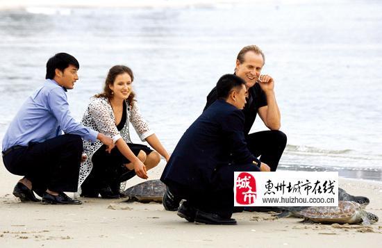 电影《海神密码》惠州拍戏
