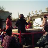 2012年黄庄村大年初一文艺活动