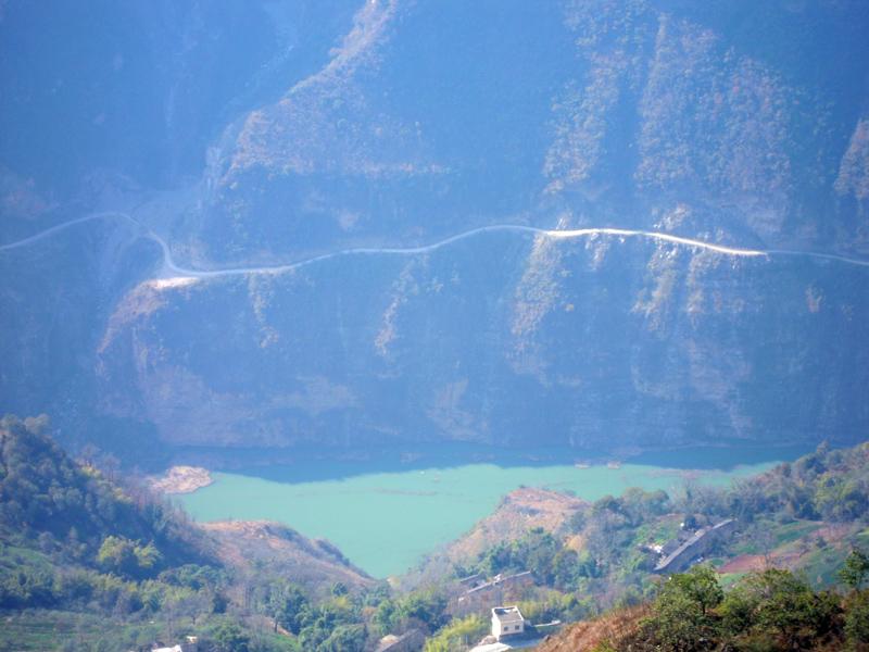 天下奇观――鲁甸梭山美景