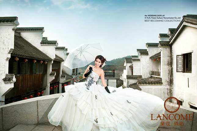 婚纱女人最美的一刻