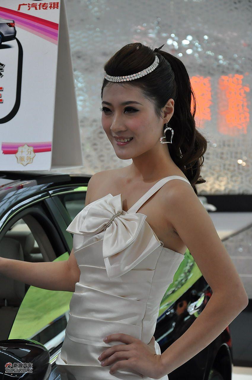 2011南宁车展模特高清图集
