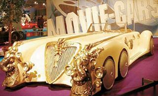[转贴]世界上最贵的十辆车黄金跑车28.5亿元(组图)