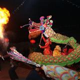 韦庄镇魏家斜:耍龙灯-1