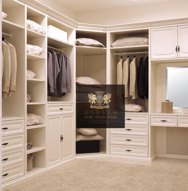 书柜\实木定制\实木整体衣柜\实木门板\欧式衣柜\实木