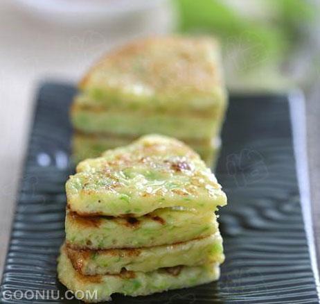 西葫芦饼―夏季简单健康早餐