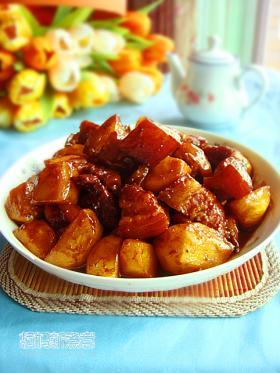 [转贴]土豆红烧肉