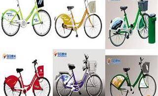 惠州网友热议便民自行车服务系统