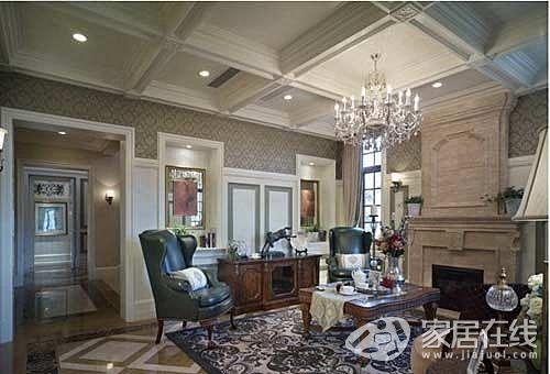 13万装修85平色彩美家如城堡一般梦幻
