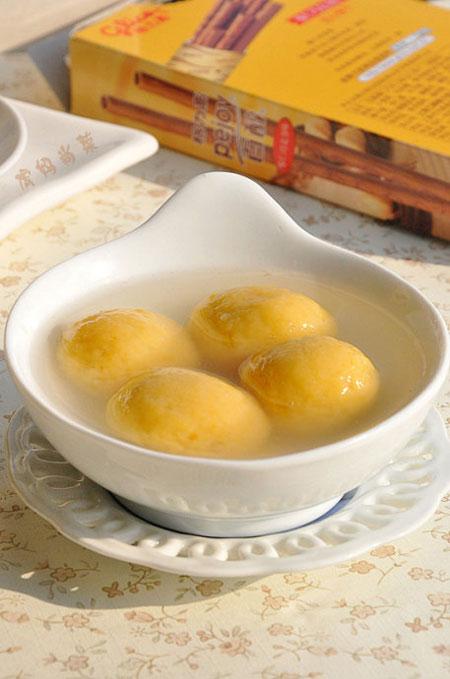 自己做美食汤圆又美味又健康!