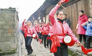 三元十八寨举办民俗文化旅游节