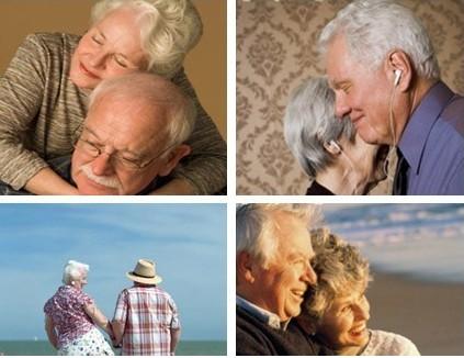 当我们老时,像他们那样才叫幸福