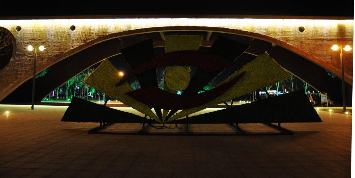 东营:清风湖夜景