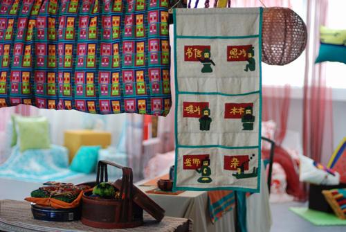 [分享]零成本装饰!巧用家纺编织物点缀小屋