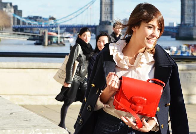 街拍2012伦敦时装周
