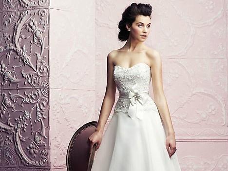 2012最新款婚纱礼服流行趋势(1)