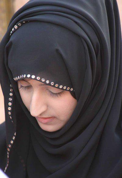 面纱下的伊朗美女 波斯风情浓厚
