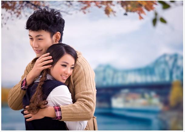婚纱摄影主题《那年的秋天》,太漂亮了!!!!