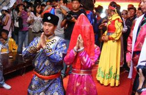 杜尔伯特蒙古族传统婚礼习俗