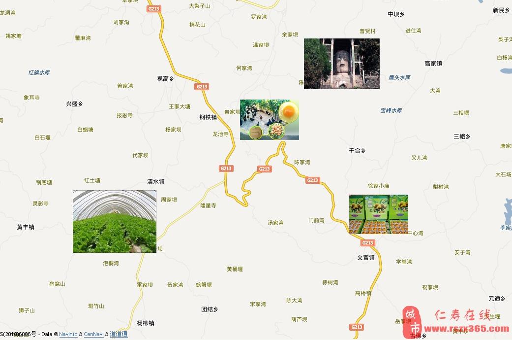 2012仁寿县乡村游——春游赏花线路推荐图片