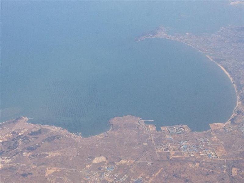 [原创]从上海到哈尔滨的飞机上,俯瞰到的画面