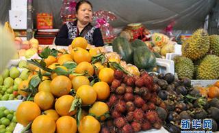广西:凭祥水果协会在浦寨边贸点揭牌成立