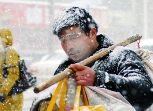 2008年的第一场雪