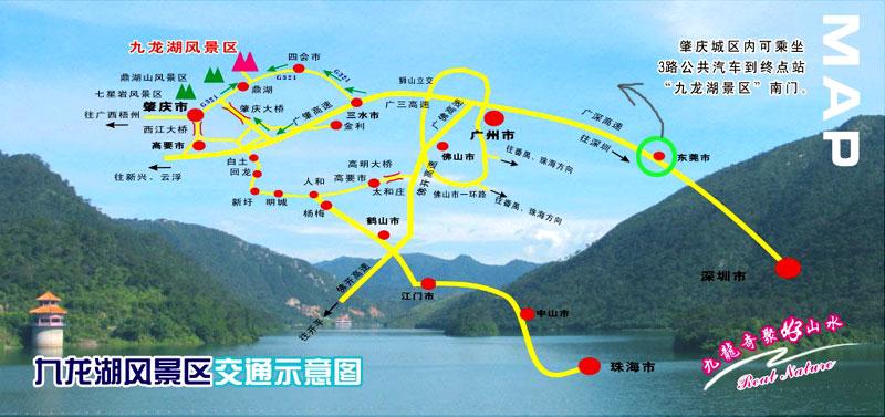 广东省内春季自驾游线路:游赏花泡温泉