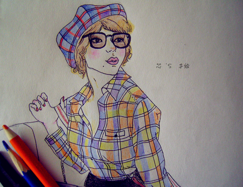 [原创]彩色铅笔画