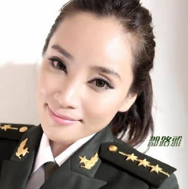 中国最美女兵邵路雅性感写真