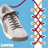 个性的系鞋带方法