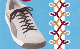 10种个性方法系鞋带