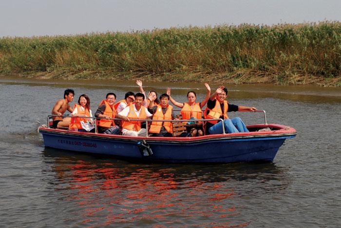 盘锦辽河绿水湾照片