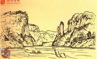 舞阳河原生态自然风光